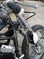 DS400フォーククランプミラーステー